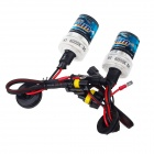 Explorer H1 35W 3200lm Car HID Xenon Lamps w/ Ballasts Set - Black (DC 12V / 2 PCS)