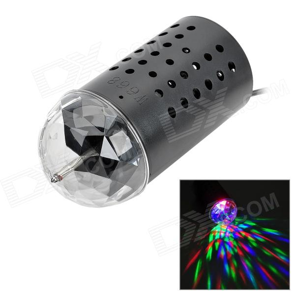 W668 50MW + 30MW + 40MW RGB LED Stage Lighting - Black + White (EU Plug / AC 85~260V)