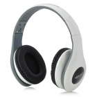 Ditmo DM-4900 Foldable Wired 3.5mm Plug Stereo Headset Headphones w/ Microphone for Iphone 5 - White