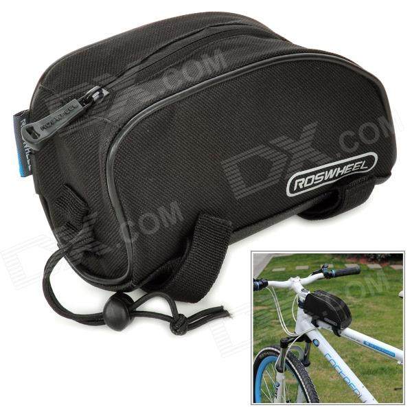 ROSWHEEL Bicycle Front Tube Bag - Black