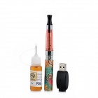 WUFENG-HYH229 USB Rechargeable 650mAh Electronic Cigarette w/ 10ml Mint Flavor Tar - Pink + Silver
