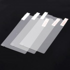 Protective Clear Screen Protector Film Guard for Sony Xperia ZL L35h / LT35h - Transparent (3 PCS)