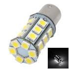 1156 4.32W 260lm 24-SMD 5050 LED White Light Car Brake Light / Backup Light - (12V)