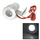 GZD10 Motorcycle 3W 100~130lm 6000K LED White Light Decoration Lamp - White + Silver