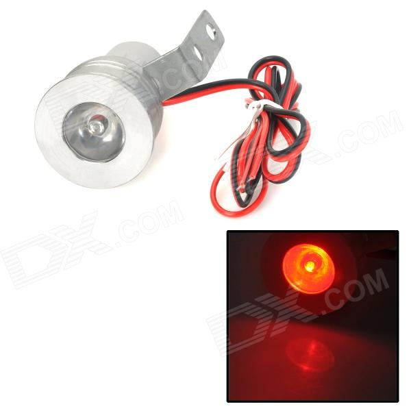 GZD08 Waterproof 3W 100~130lm 630~635nm LED Red Light Motorcycle Lamp (12~24V)