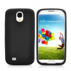 Protective Soft Silicone Back Case for Samsung i9500 - Black