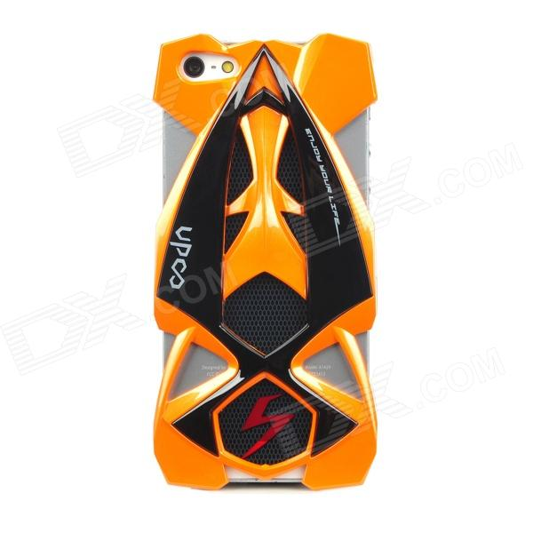 Legal F1 Racing Car Estilo protetora de plástico de volta caso capa para o iPhone 5 - Orange