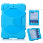 Robot Style Protective Silicone Back Case for Ipad MINI - Blue