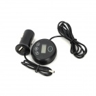 Wireless Bluetooth Transmitter w/ USB Car Charger for Iphone 5 / 4GS / Ipad - Black