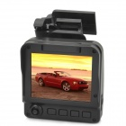 "V5000GS Ambarella A5 2.5"" TFT 5.0MP CMOS Wide Angle Car DVR w/ GPS / Microphone / Mini HDMI - Black"