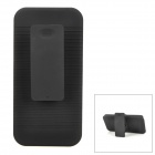 Protective Plastic Case w/ Clip for Iphone 5 - Black