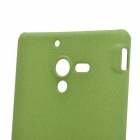 Protetor fosco PC Capa Case for Sony Xperia ZL L35H / LT35h - Verde Oliva
