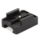 DL011 Aluminum Mini 20mm Rail Mount for GoPro Hero 2 / SJ4000 - Black