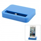 8-Pin Lightning Charging Dock for iPhone 5 / iPod Touch 5 / iPod Nano 7 - Dark Blue