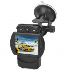 "V4000GS  Ambarella A5 2.5"" TFT 5.0MP CMOS Wide Angle Car DVR w/ GPS / Microphone / Mini HDMI - Black"