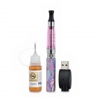 WUFENG-HYH231 USB Rechargeable 650mAh Electronic Cigarette w/ Cappuccino Flavor Tar - Light Purple