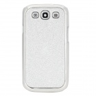 Protective Shinning Plastic Back Case for Samsung Galaxy S3 i9300 - Silver