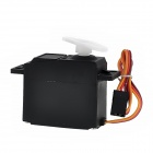 3kg Plastic Analog Servo for RC Model Toy - Black (4.8~6.0V)