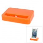 Classic Mini Plastic Charging Dock for iPhone 5 / iPod Nano 7 / iPod Touch 5 - Orange