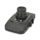 "GS8000L 2.7"" TFT Full HD 1080P Wide Angle 1.3MP CMOS Car DVR w/ 4-LED IR Night Vision / HDMI - Black"