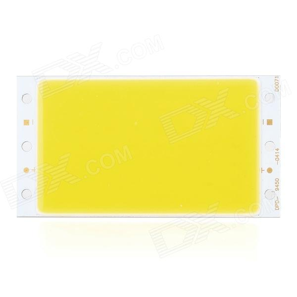 DPD-4W-WW-MK DIY 4W 360lm 3000K Warm White Light COB LED Module - Silver + Yellow (12~15V)