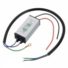 JR-12W-DRIVER Waterproof 8~12 x 1W LED Constant Current Power Supply - Silver + Black (AC 85~265V)