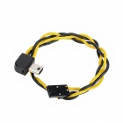 HJ HJ03 5.8G Transmitter FPV A/V Real-time Output Cable for Gopro Hero 3 - Black + Yellow (30cm)