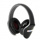 Ditmo DM-4800 Foldable Stereo Headset Headphones - Black + Grey (3.5mm Plug / 130cm-Cable)