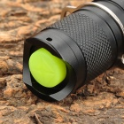 UltraFire XML-F18 400lm 5-Mode White Flashlight w/ Cree XM-L U2 - Black (1 x 18650)