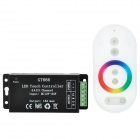 432W LED RGB Touch Controller w/ Mini Receiver - Black + White (3 x AAA)