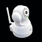 EASYN 300KP Wireless Network Surveillance IP Camera w/ 10-LED Night Vision - White