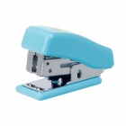 Mini Frog Stainless Steel Stapler + Staples Set - Blue