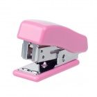 Mini Bear Stainless Steel Stapler + Staples Set - Pink