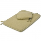 Protective 13'' Canvas Laptop Sleeves for air13/pro13.3 - Deep Beige