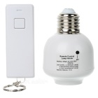 E27 Wireless Remote Control Switch Light Bulb Socket (AC 110~250V)