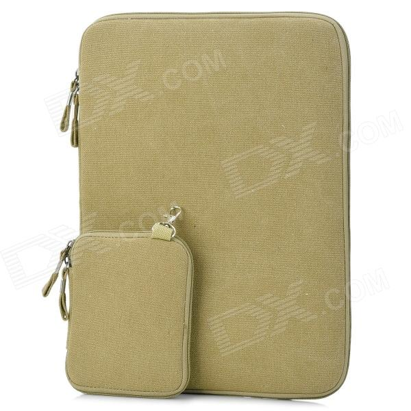 Protective 15.4'' Canvas Laptop Sleeves for PRO15 - Deep Beige