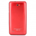 "Téléphone PAD5 Android 4.2 WCDMA Bar Phone w / 5.7 ""Capacitive Screen, Wi-Fi et GPS - Blanc + Rouge"