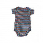 Colorful Stripes Rompers for Babies (0-3 Months)