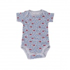Cute Rompers for Babies - Light Grey (0-3 Months)