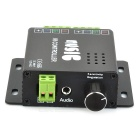 288W LED RGB Controller w/ Mini Receiver - Black + Multicolored