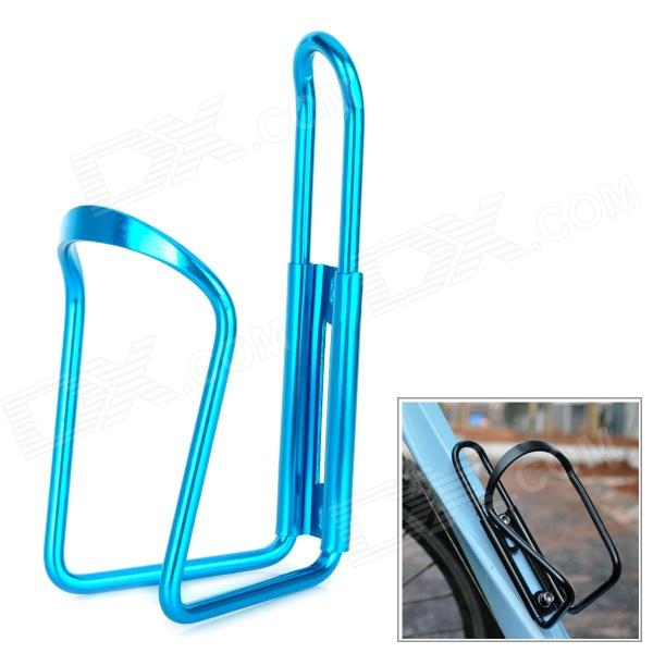 Bike Bicycle Aluminum Alloy Water Bottle Holder Bracket - Blue