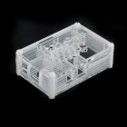 Protective Acrylic Case Enclosure Computer Box for Raspberry Pi - Transparent