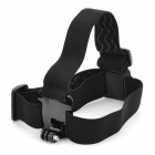 Camera Fixed Headband for GoPro Hero2 / Hero3 / 3+ / SJ4000 - Black