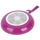 1210390 Kitchen Smoke-free Ceramic Frying Pan - Purple