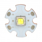 Replacement 18mm CREE XM-L2 T6 900lm Cool White Emitter Plate for Flashlight - White + Golden