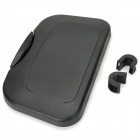 SHUNWEI Car Rear Seat Food Tray Drink Cup Holder - Black
