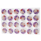 Nail Art fototerapia UV Gel Nail Constructor Consejos Glue - multicolor (24 PCS)