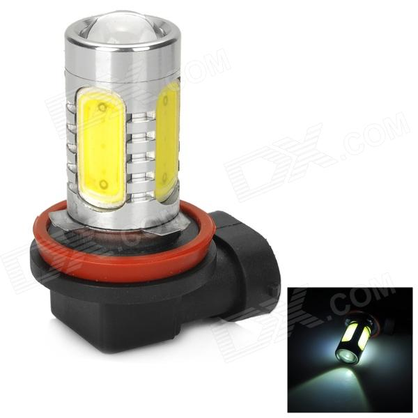 H8-4L+1Q5 Highlight H8 11W 880lm White Light Car Foglight w/ 5-Cree LED (10~30V) highlight h3 12w 600lm 4 smd 7060 led white light car headlamp foglight dc 12v
