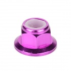 HSP 102049 Aluminum Alloy M4 Nuts for 1 : 10 R/C Cars - Purple (4 PCS)