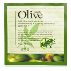 Olive CYW1824 Olive Oil Hydrating Soothing Beauty Facial Mask - White